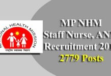 MP ANM & STAFF NURSE RECRUITMENT