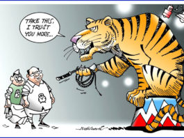 cartoon on maharashtra election
